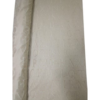 Hollywood Alphabet Letters Fabric Roll