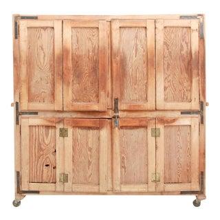 Antique Bread Rising Cupboard