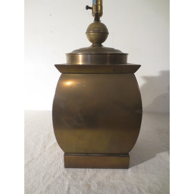 Vintage 60s Pair of Brass Table Lamps - Image 5 of 6