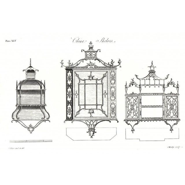 Chinese Chippendale Hanging Pagoda Wall Shelf - Image 11 of 11