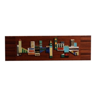 Large Harris Strong New York Cityscape