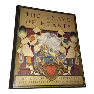 1st Ed 1925 the Knave of Hearts Maxfield Parrish