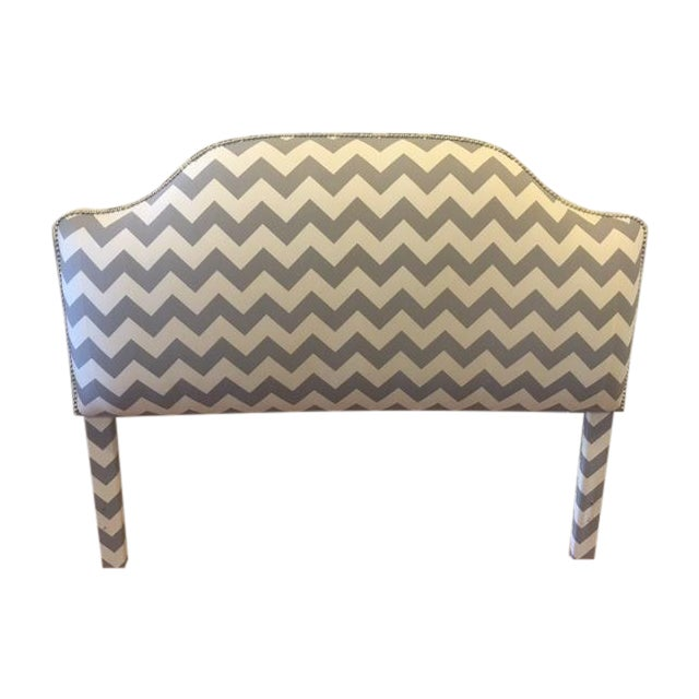Queen Size Upholstered Headboard - Image 1 of 6