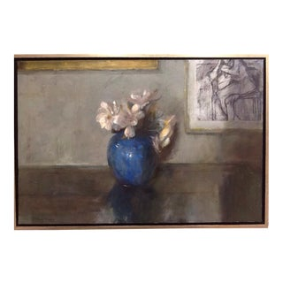 Nude With Still Life Painting