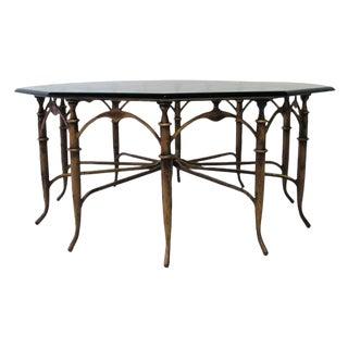 Italian Carlo Di Carli Style Spider Leg Coffee Table