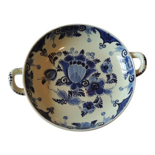 Vintage Blue & White Delfware Dish
