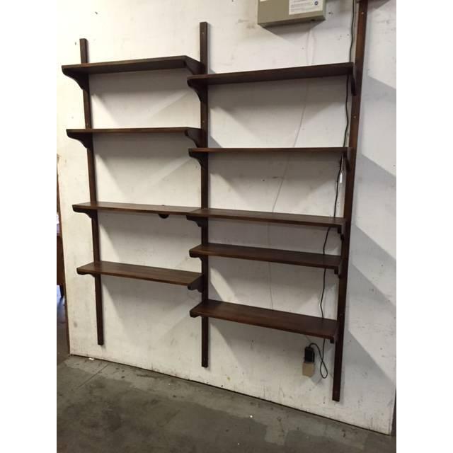 Image of Mid-Century Danish Shelf Wall Unit