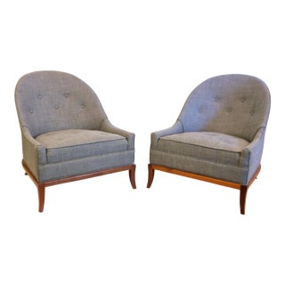 T.H. Robsjohn Gibbings Model 2043 Slipper Chairs
