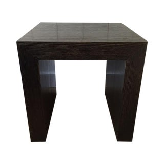 Cerused Black and Gold Side Tables - Pair