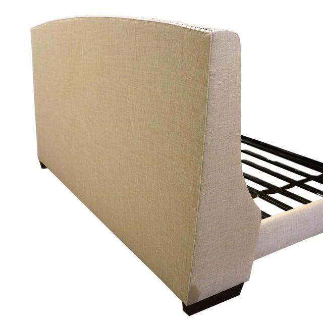 Restoration Hardware Warner Fabric King Bed - Image 4 of 10