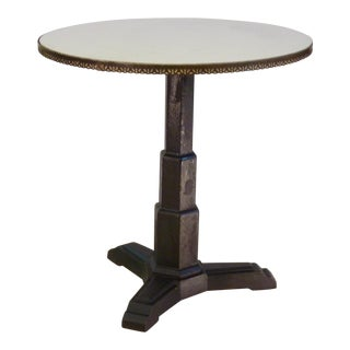 French Art Deco Cafe Table