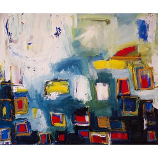 """Abstract """"Vegas Tide"""" Painting"""