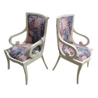 Jimeco Ltda Tessellated Chairs - A Pair