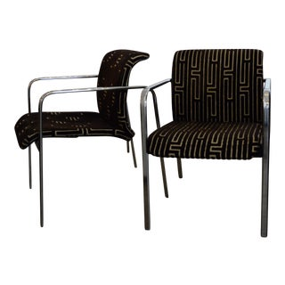 Pair of Peter Protzman for Herman Miller Armchairs with New Upholstery