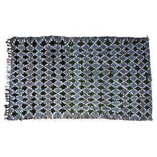 Moroccan Wool Rug - 3′4″ × 5′9″