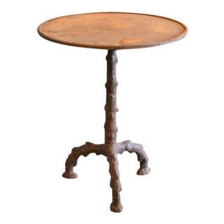 Faux Bois Gueridon Table