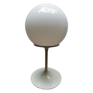Bill Curry White Globe Table Light by Design Line