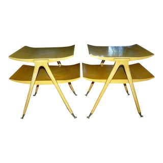 Italian Side Tables Attributed to Ponti/Parisi