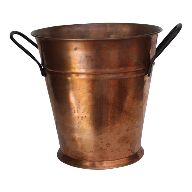 Turkish Copper Bucket - Image 1 of 4