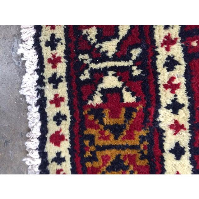 Turkaman Handmade Persian Rug - 1′8″ × 2′11″ - Image 10 of 11