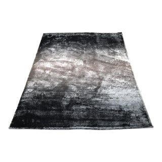 """Feizy Rugs Indochine Collection Large Black and Gray Rug - 7'6"""" X 9'6"""""""