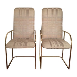 Milo Baughman for DIA Dining Chairs - A Pair