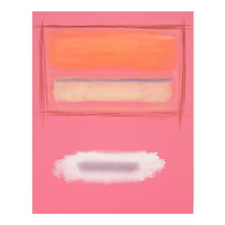 Rothko Surprise #64 Original Abstract Painting by Stephen Neil Gill