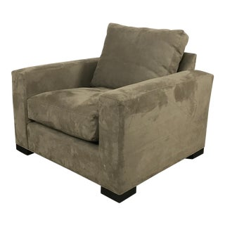 Room & Board Microfiber Club Chair