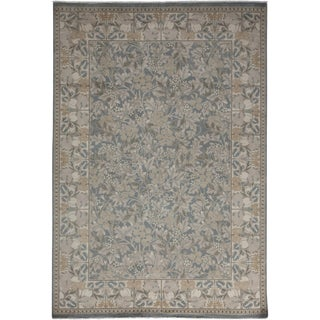 "Oushak Hand Knotted Area Rug - 6'0"" X 8'10"""