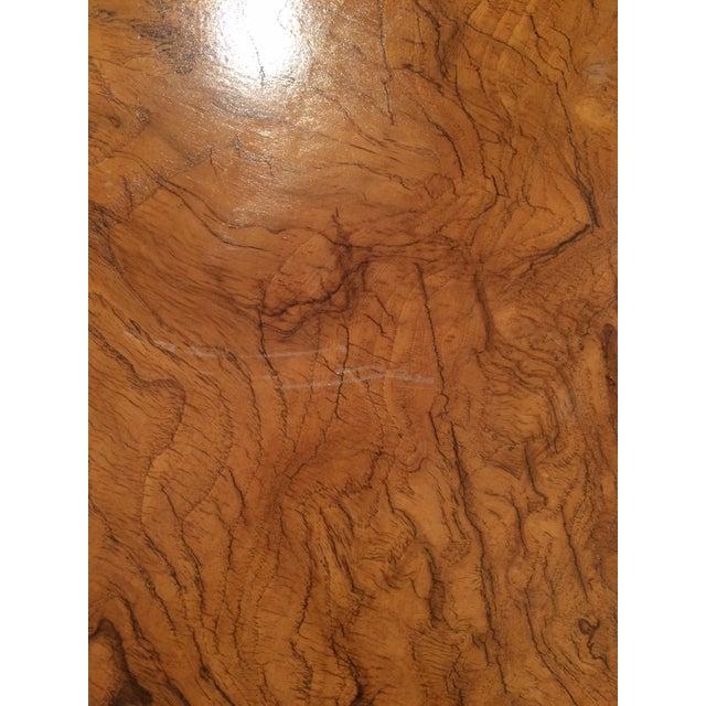 Baker Burlwood Modern Coffee Table - Image 7 of 7