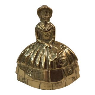 Brass Southern Belle Lady Bell