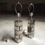 Image of Laurel Lamp Co. Architectural Metal Lamps - A Pair