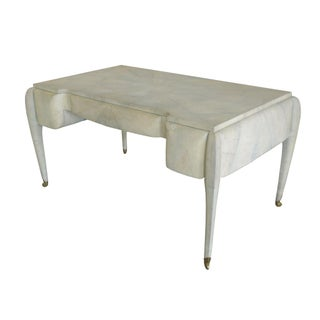 Maitland-Smith Art Deco Style Shagreen Desk