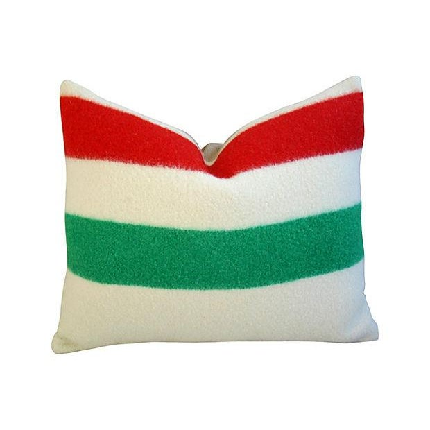 Custom Hudson s Bay Blanket Pillows - A Pair Chairish