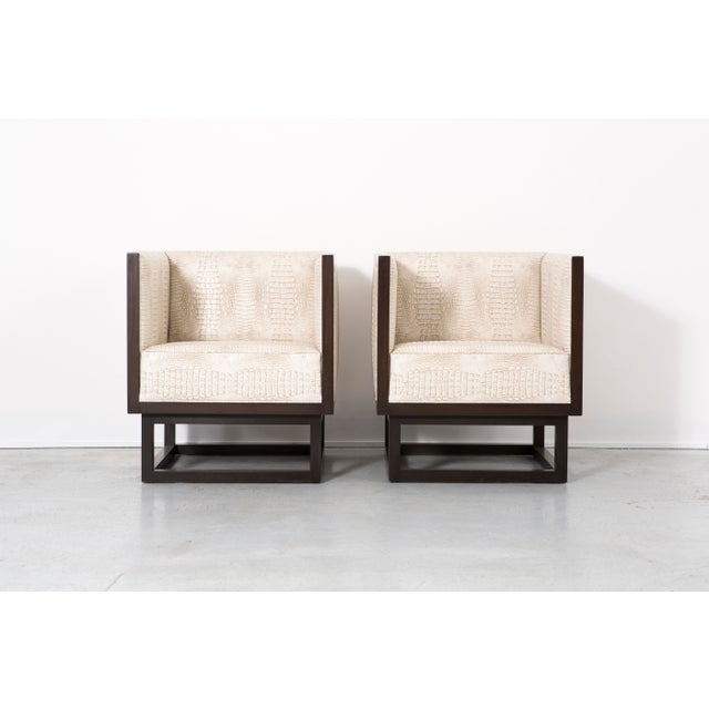 Set of Cabinett Lounge Chairs - Image 2 of 9