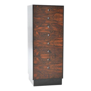 Harvey Probber Eight-Drawer Rosewood Jewelry Cabinet