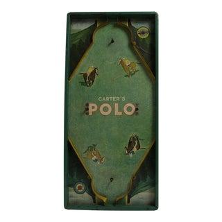 """1930s """"Carter's Polo"""" Board Game"""