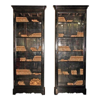 ma+39's Custom Black Lacquered Bookcases