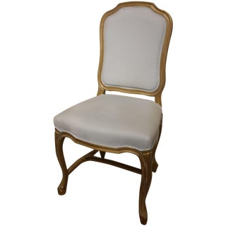 Pomadour Blue & Gold Side Chair