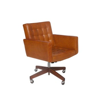 Early Production Vincent Cafiero Desk Chair for Knoll Associates