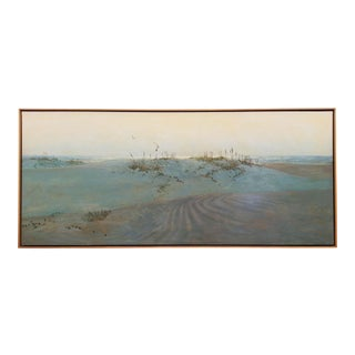 Coastal Sand Dunes Long Painting