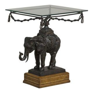 A Maitland Smith designed Elephant Side Table 1970s