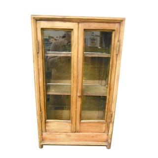 Antique Primitive Display/Storage Cabinet