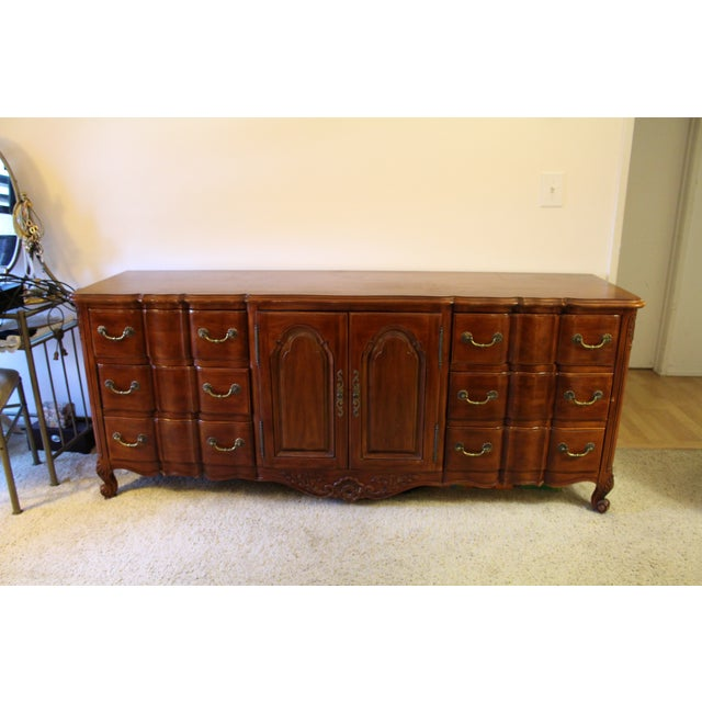 John Widdicomb Louis XV Cherry Wood Dresser - Image 2 of 9