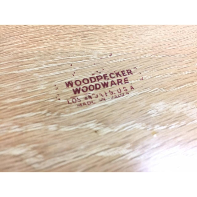 Woodpecker Woodware Mid-Century 1950s Trays - Set of 4 - Image 4 of 4