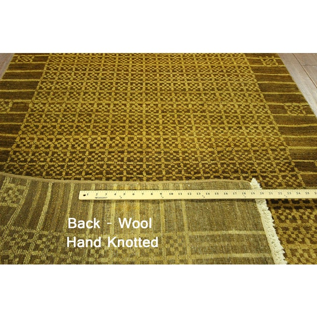 """Oriental Traditional Oushak Rug - 4'1"""" x 5'7"""" - Image 7 of 7"""