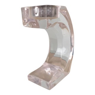 Lucite Votive Candle Holders