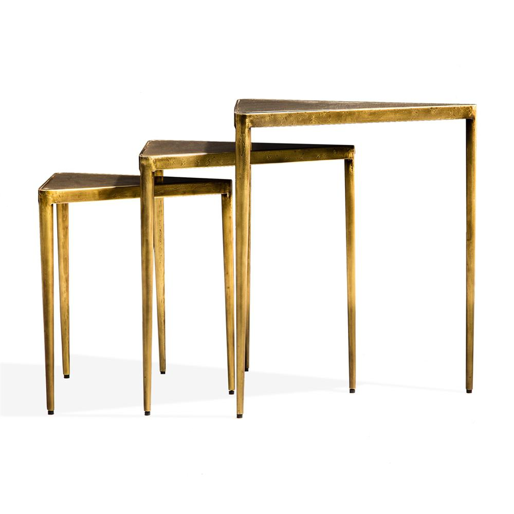 Wonderful Jasmine Triangle Nesting Tables   Set Of 3   Image 2 Of 3