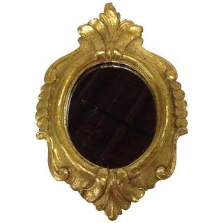Vintage Borghese Gilt Wood Mirror