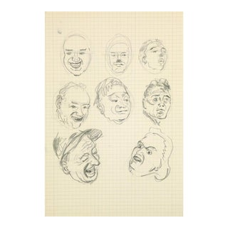 Drawing of Expressions, C. 1960